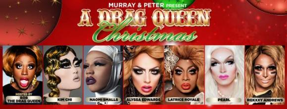 A Drag Queen Christmas at Murat Egyptian Room