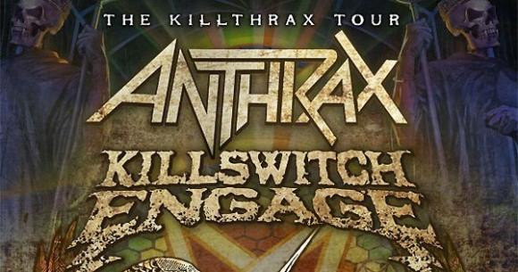 Killswitch Engage & Anthrax at Murat Egyptian Room