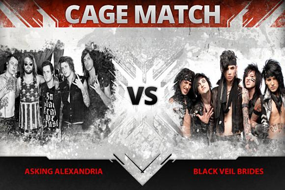 Black Veil Brides & Asking Alexandria at Murat Egyptian Room