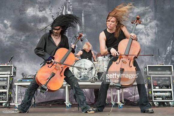 Apocalyptica at Murat Egyptian Room