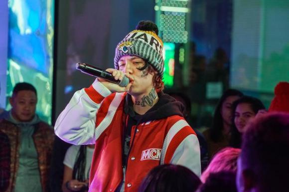 Lil Xan at Murat Egyptian Room