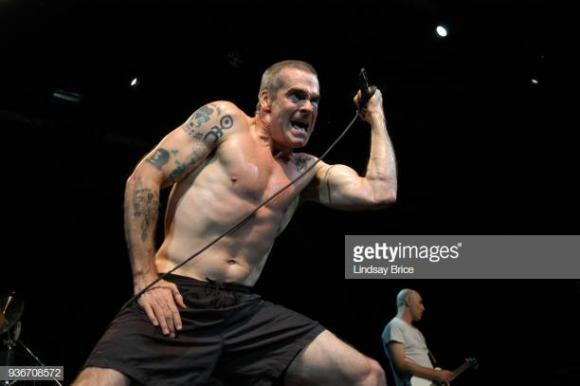 Henry Rollins at Murat Egyptian Room