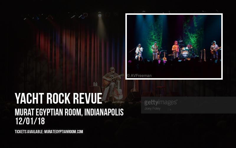 Yacht Rock Revue at Murat Egyptian Room