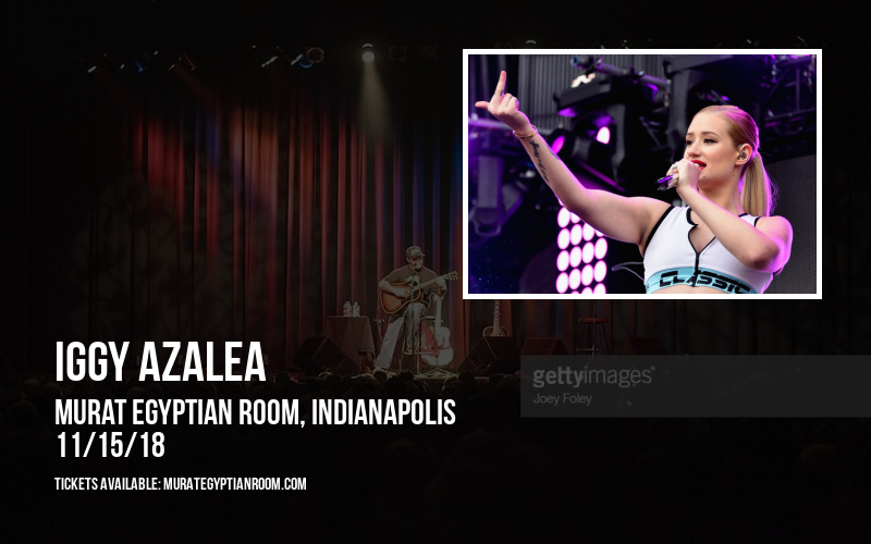 Iggy Azalea at Murat Egyptian Room