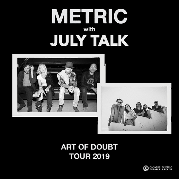 Metric & July Talk at Murat Egyptian Room