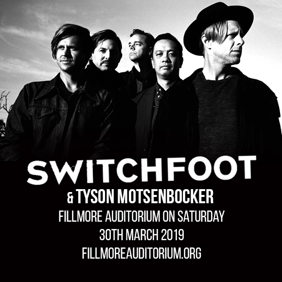 Switchfoot & Tyson Motsenbocker at Murat Egyptian Room