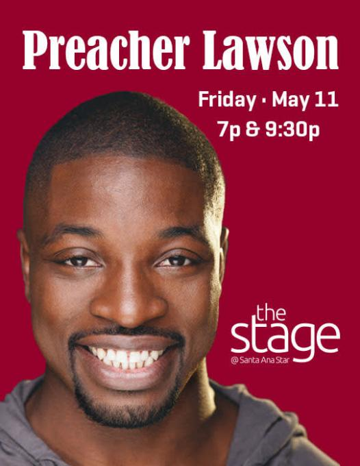 Preacher Lawson at Murat Egyptian Room
