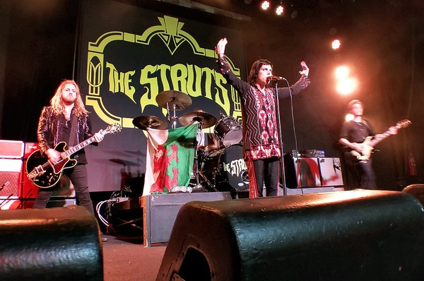 The Struts at Murat Egyptian Room