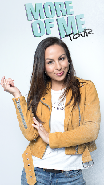 Anjelah Johnson at Murat Egyptian Room