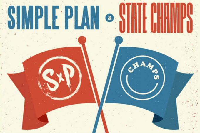 Simple Plan & State Champs at Murat Egyptian Room