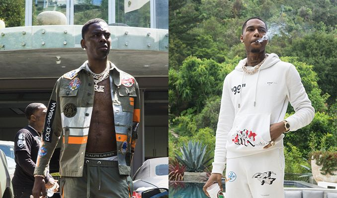Young Dolph & Key Glock  at Murat Egyptian Room