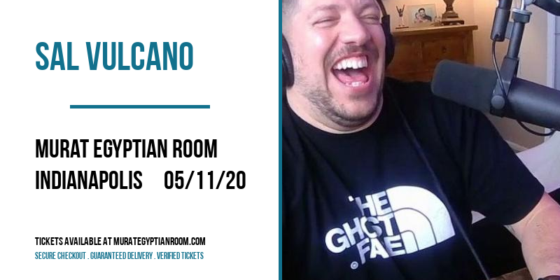 Sal Vulcano at Murat Egyptian Room