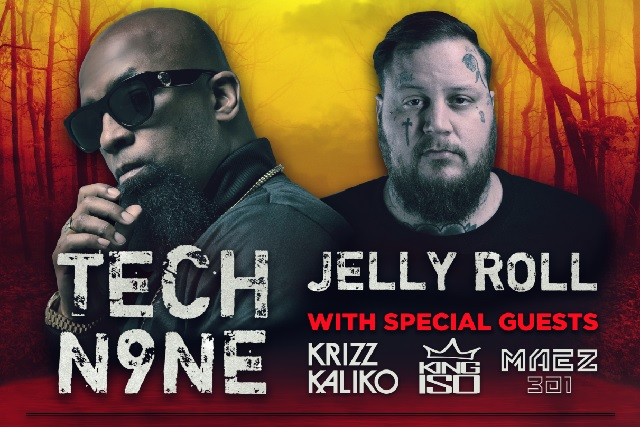 Tech N9ne & Jelly Roll at Murat Egyptian Room