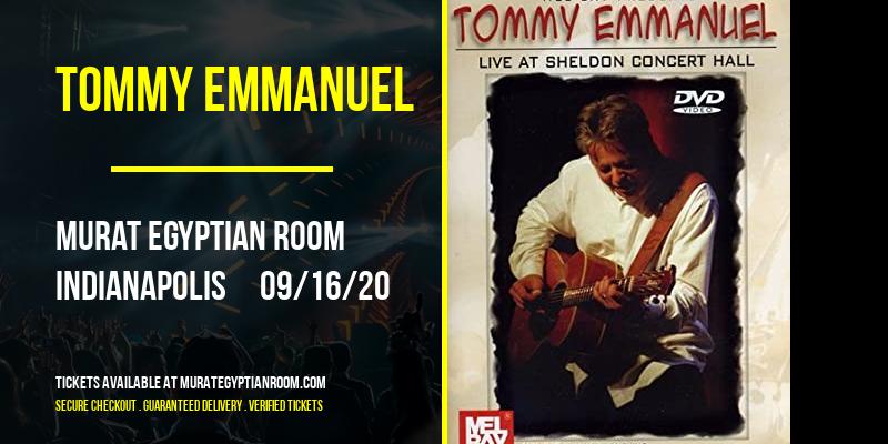 Tommy Emmanuel at Murat Egyptian Room