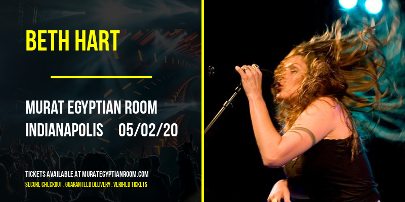 Beth Hart at Murat Egyptian Room