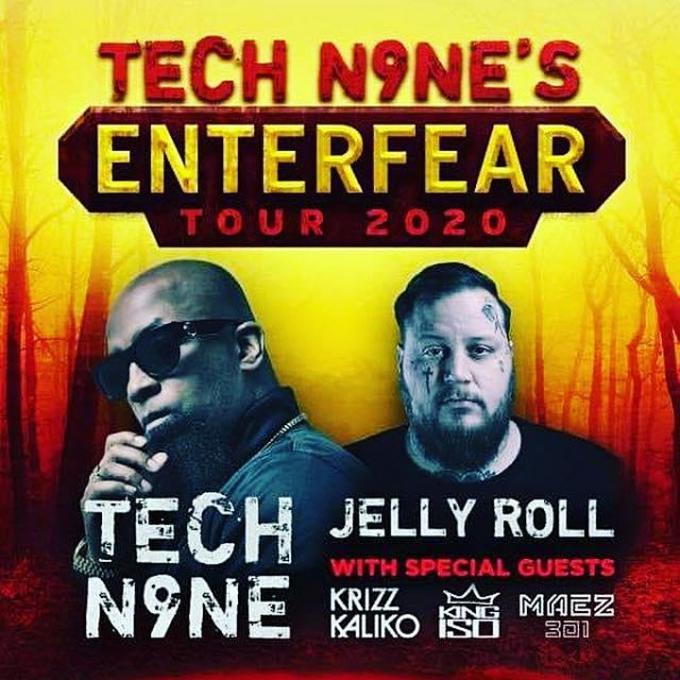 Tech N9ne & Jelly Roll at Murat Egyptian Room