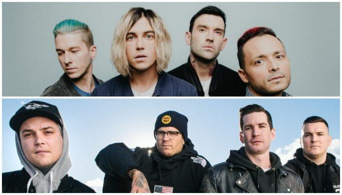 Sleeping With Sirens & The Amity Affliction [POSTPONED] at Murat Egyptian Room