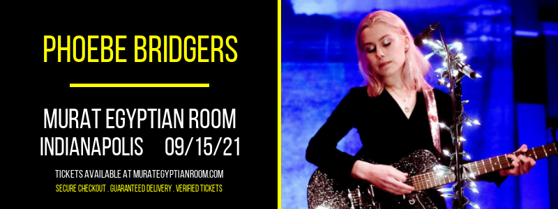 Phoebe Bridgers [CANCELLED] at Murat Egyptian Room