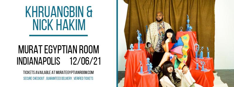 Khruangbin & Nick Hakim at Murat Egyptian Room