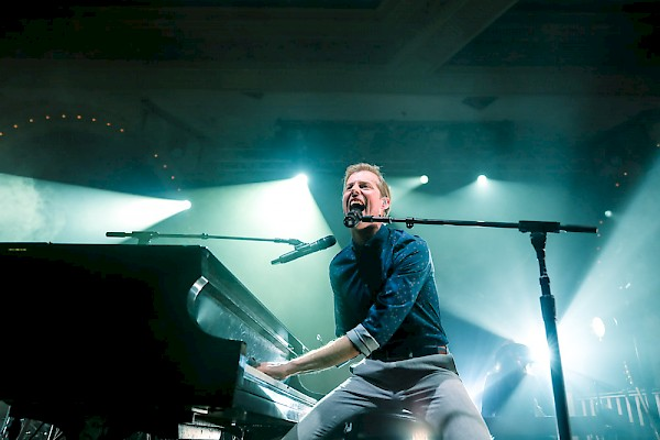 Andrew McMahon in the Wilderness at Murat Egyptian Room
