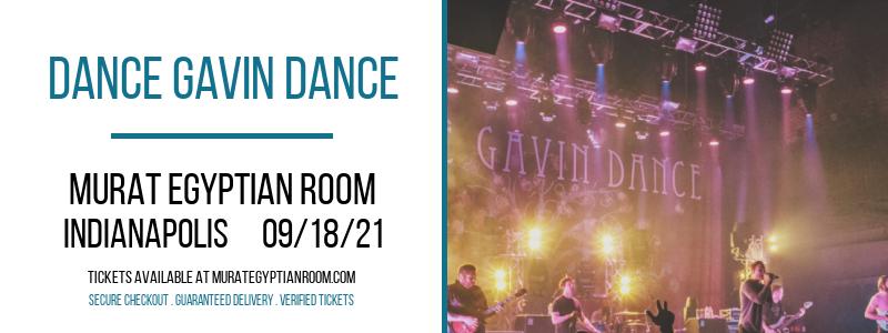 Dance Gavin Dance at Murat Egyptian Room